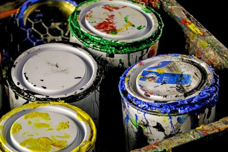 proper paint storage
