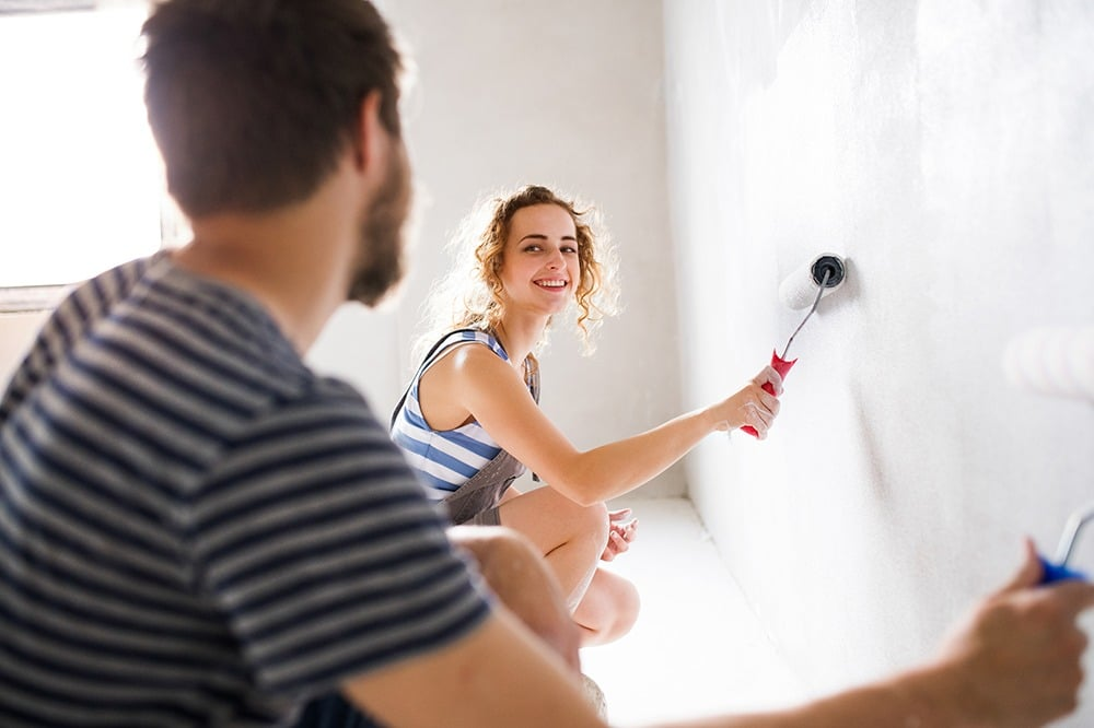 Attention Millennials — Don't Hire Help, DIY Paint Projects in Your New Home!