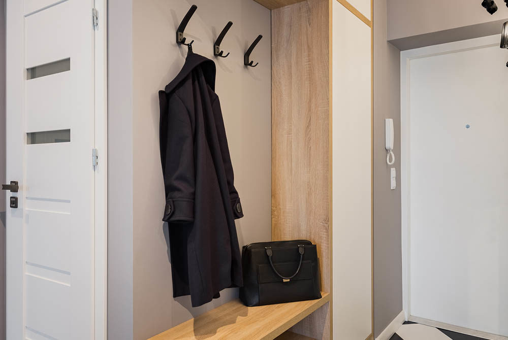Organizing and Remodeling a Mudroom